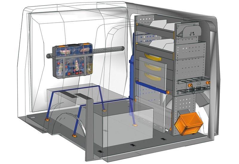 Fahrzeugeinrichtungen Citan Professional KA L1H1 P2