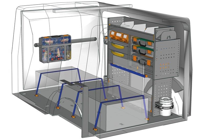 Fahrzeugeinrichtungen Citan Professional KA L2H1 P2