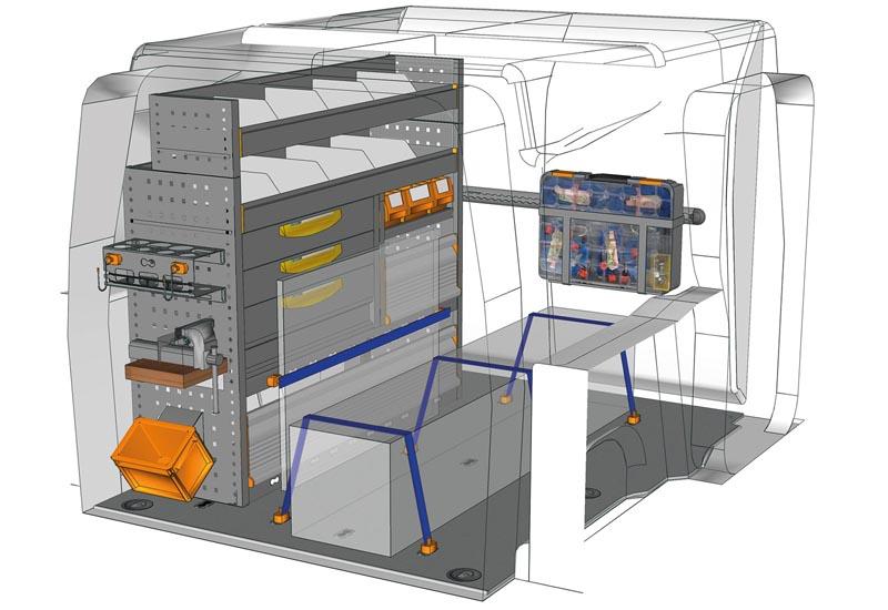 Fahrzeugeinrichtungen Berlingo Professional PA L1H1 P1