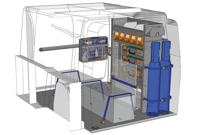 Fahrzeugeinrichtungen Berlingo Professional PA L1H1 P2