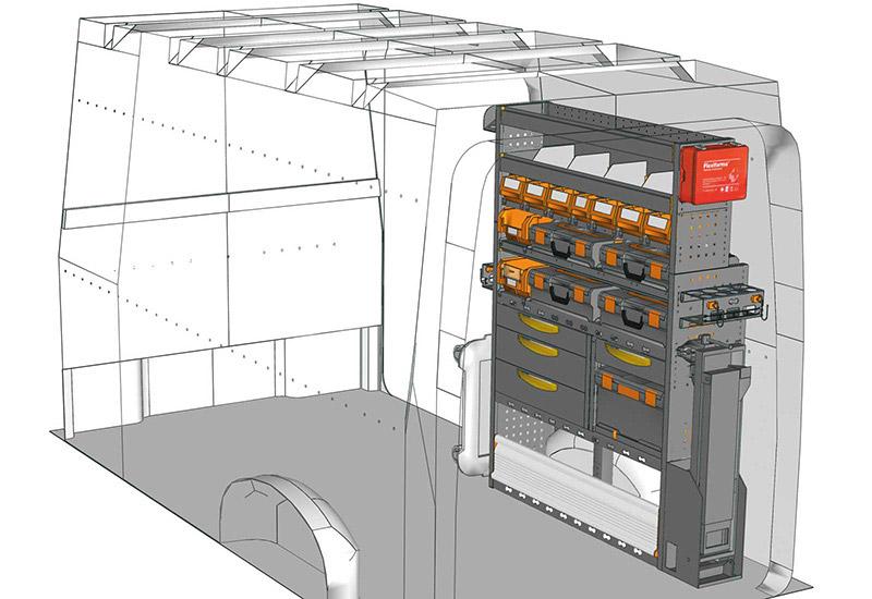 Fahrzeugeinrichtungen TGE CR-1217-M1