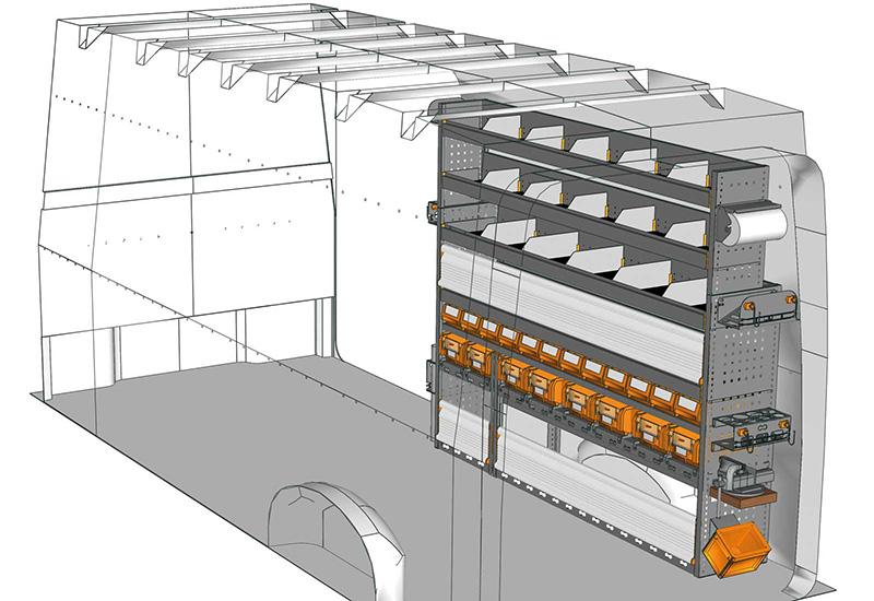 Fahrzeugeinrichtungen CRAFTER CR-2017-01