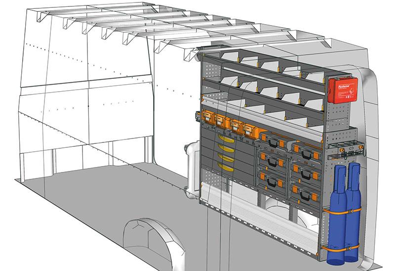 Fahrzeugeinrichtungen TGE CR-2017-M1