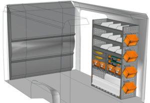 Fahrzeugeinrichtungen furgoni Jumper L1 H1 / CH1 DU-1014-02