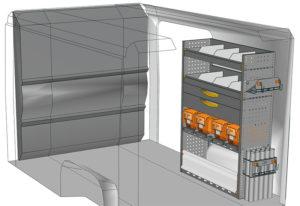 Fahrzeugeinrichtungen furgoni Jumper L1 H1 / CH1 DU-1014-08