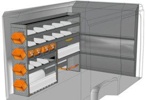 Fahrzeugeinrichtungen furgoni Boxer L1 H1 / CH1 DU-2014-07
