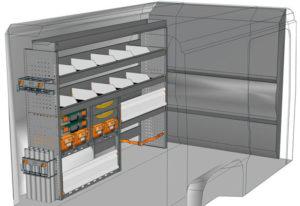 Fahrzeugeinrichtungen furgoni Boxer L1 H1 / CH1 DU-2015-01