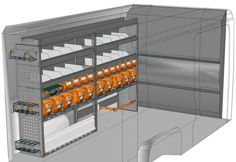 Fahrzeugeinrichtungen Boxer DU-2415-06