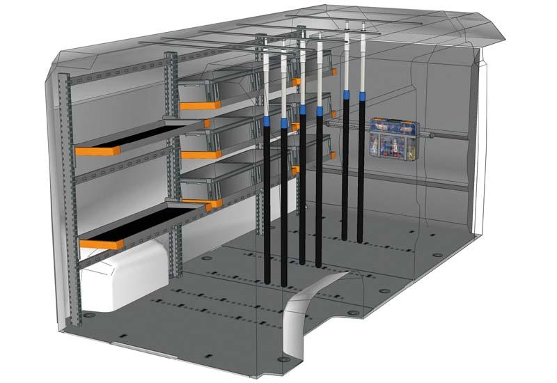 Fahrzeugeinrichtungen Boxer Light Shelf DU L4H2 L1