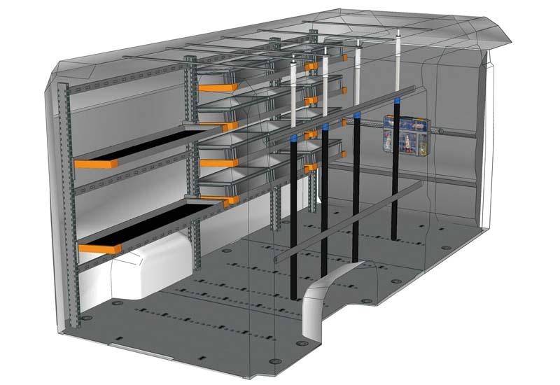 Fahrzeugeinrichtungen Boxer Light Shelf DU L5H2 L1