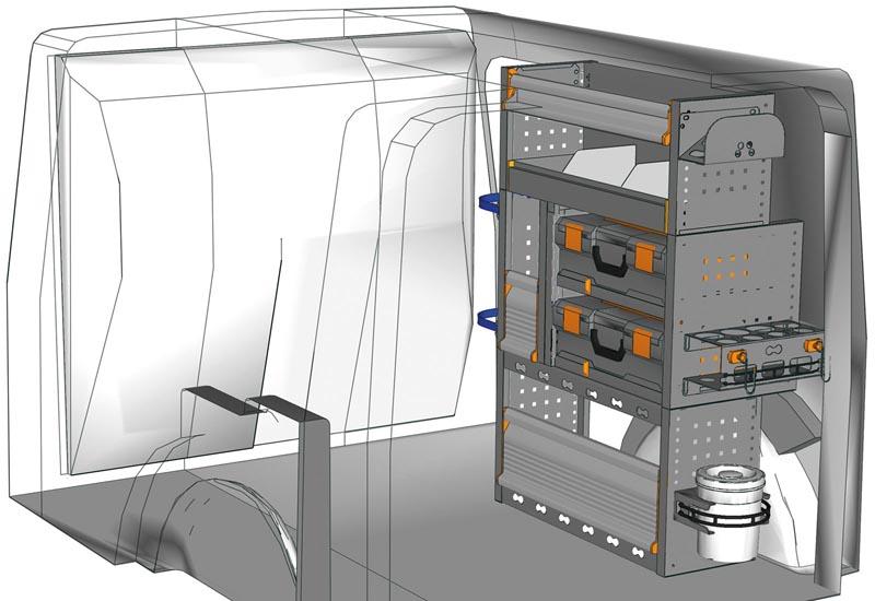 Fahrzeugeinrichtungen Citan KA 0711 M1