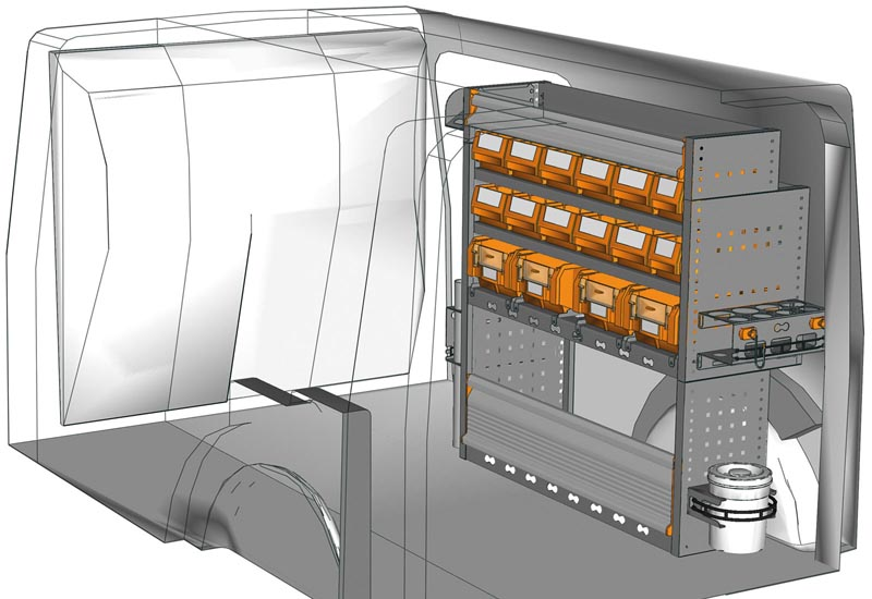 Fahrzeugeinrichtungen Citan KA 1011 P1