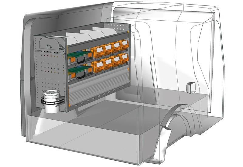 Fahrzeugeinrichtungen Citan KA 1207 04