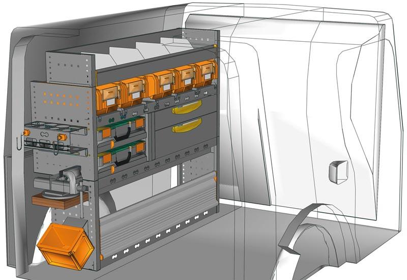 Fahrzeugeinrichtungen Citan KA 1211 P3