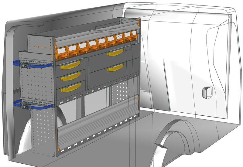 Fahrzeugeinrichtungen Citan KA 1511 P2