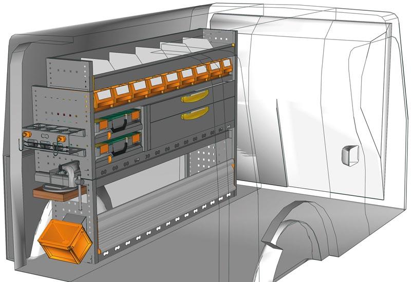 Fahrzeugeinrichtungen Citan KA 1511 P3