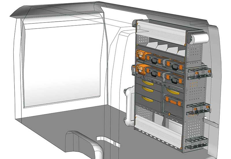 Fahrzeugeinrichtungen NV400 MA 1217 M1