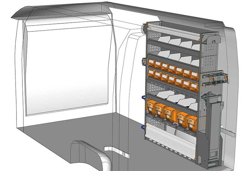 Fahrzeugeinrichtungen NV400 MA 1217 P3