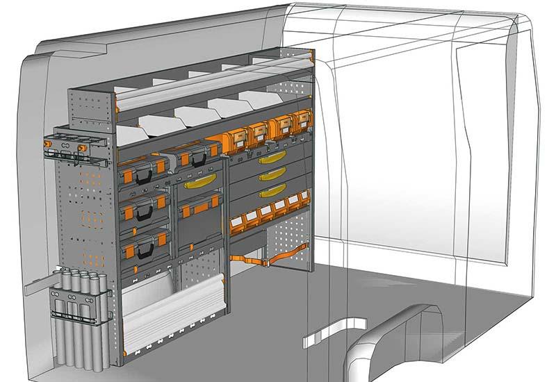 Fahrzeugeinrichtungen NV400 MA 2014 M3