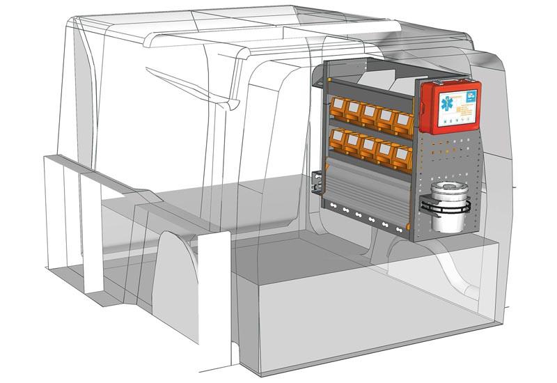 Fahrzeugeinrichtungen Berlingo PA 0707 02