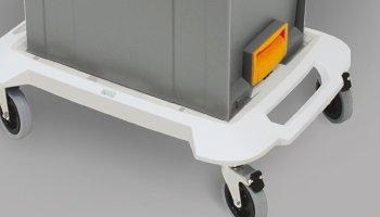 Mobile System - Wagen und Transportkarre aus Aluminium