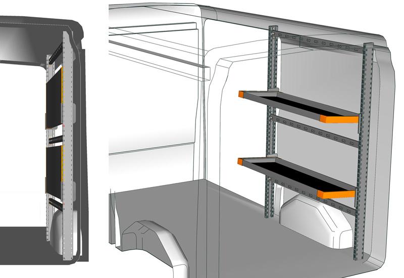 Fahrzeugeinrichtungen Transit TR 1318 L1