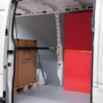Bodenplatten und Seitenverkleidungen
