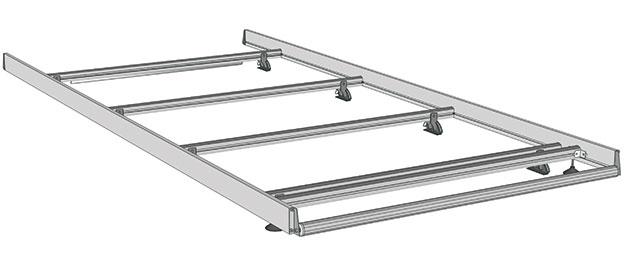 Dachträger für NV400