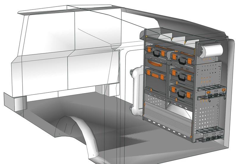 Fahrzeugeinrichtungen Vito VT 1012 M5
